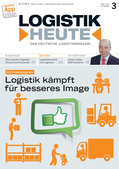 Cover LOGISTK HEUTE