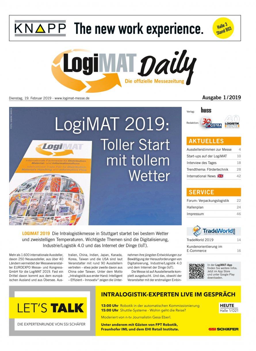 LogiMAT Daily | HUSS Unternehmensgruppe