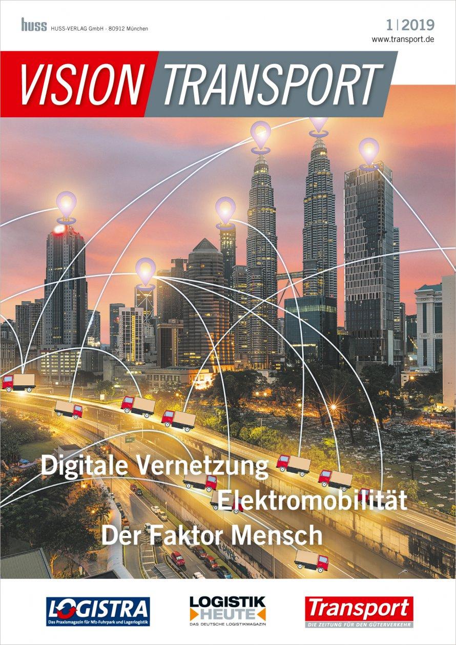 die sonderpublikation vision transport erscheint im jahr 2019 erstmals mit zwei ausgaben