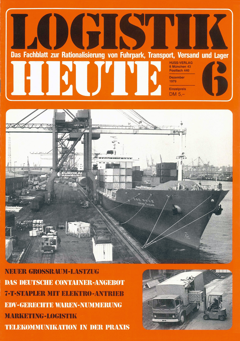 Eine der ersten Ausgaben von LOGISTIK HEUTE